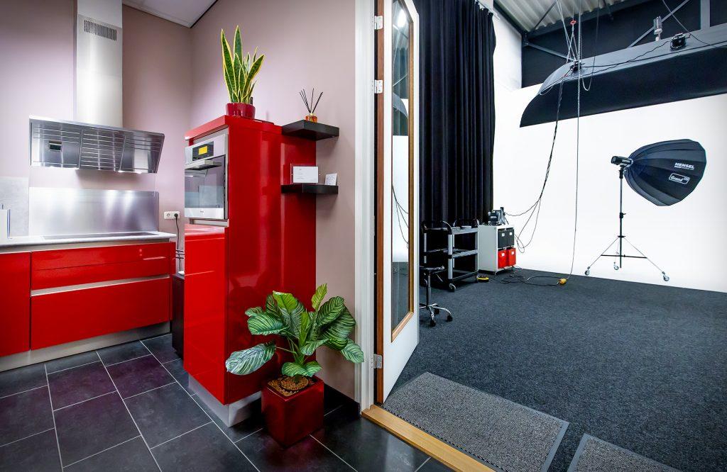 fotostudio filmstudio met keuken huren